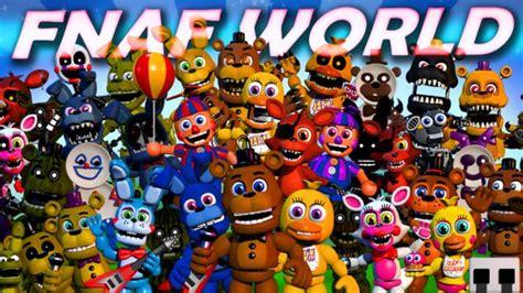 fnaf world release date revealed jrpg spin