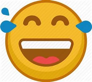 Emoji, emoticon, emoticons, emotion, laugh, smile, tears ...