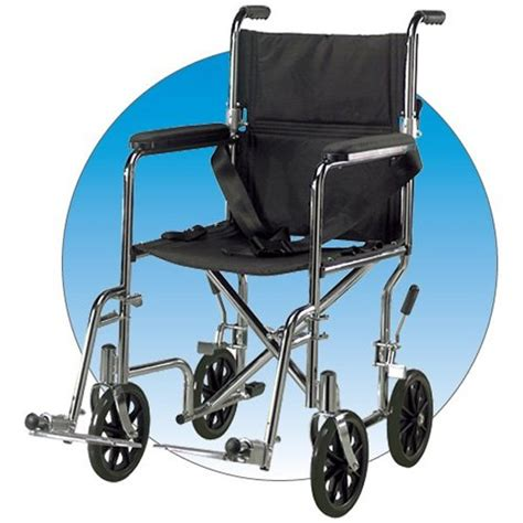 drive 17 quot wide steel transport chair with