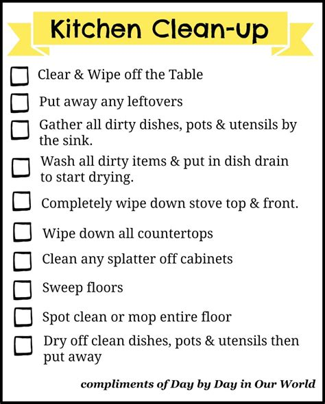 Don't Let Dishes Get You Down! Easier Kitchen Clean Up