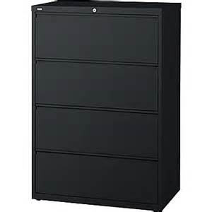 staples 174 hl8000 commercial 36 quot 4 drawer lateral file