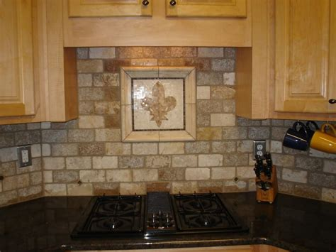 Metal Kitchen Backsplash Ideas - kitchen backsplash ideas black granite countertops double built in oven metal cushioned bar