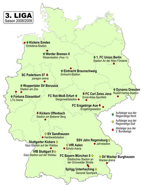 Get an ultimate soccer scores and soccer information resource now! 3. Fußball-Liga 2008/09 - Wikipedia