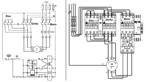 wye delta starter wiring diagram chromatex