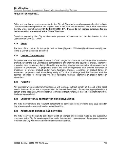 request  proposal rfp process