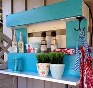 Pinterest Bricolage Jardin : etag re idee bricolage fabriquer etagere en palette ~ Melissatoandfro.com Idées de Décoration