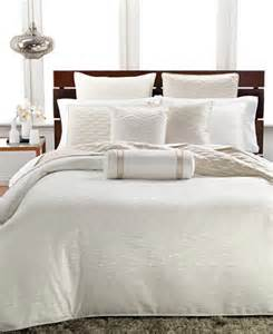 Macys Headboards Only by Hotel Collection Woven Texture King Duvet Cover Bedding