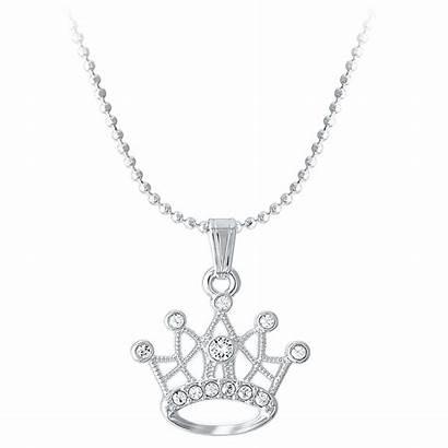 Swarovski Necklace Disney Crystal Crown Princess Shopdisney