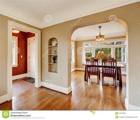 de cuisine light house interior view of dining area entrance stock