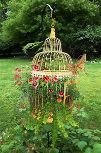 Cage Planters Are Spectacular Decor For Your Garden