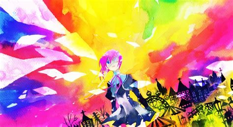 Colorful Anime Wallpaper - anime colorful ef a tale of the two shindou