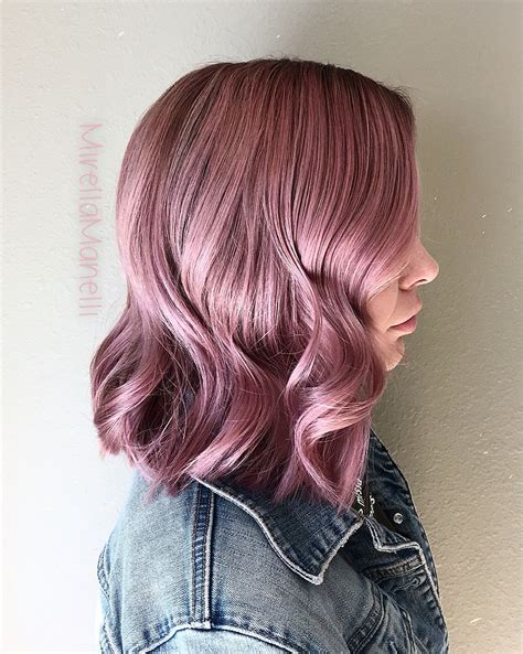 Dusty Violet Pink Hair Mirellamanelli On Instagram Hair