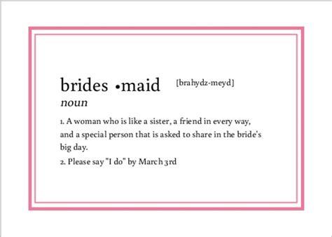 bridesmaid ideas     bridesmaid