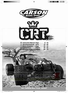 Carson Modelsport Crt Manual