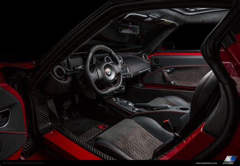 Alfa 4c Interni 4c Zender