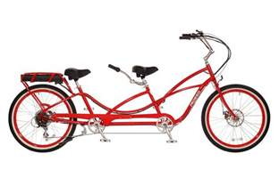 tandem bike style electric bicycle two seat pedal e-bike for sale 36V 400W lithium battery