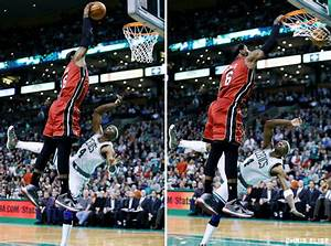 The gallery for --> Lebron James Dunks On Jason Terry Poster