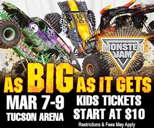 monster truck jam discount code monster jam comes to tucson info a discount code our