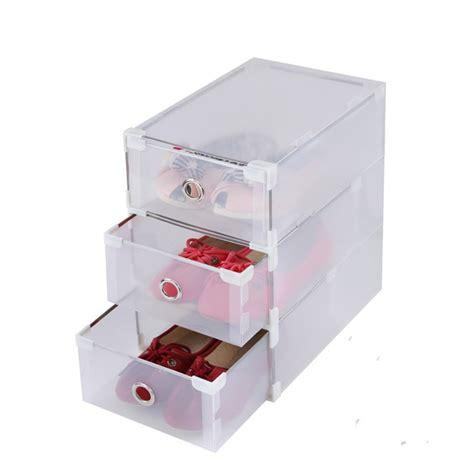 garnitures en m 233 tal tiroirs bo 238 te 224 chaussures cristal bo 238 te transparente de