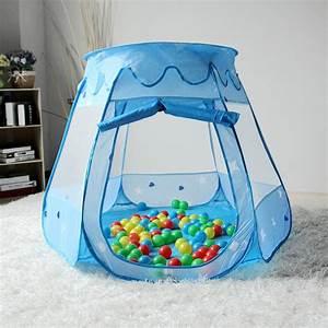 Kinderzelt Mit Bällen : spielhaus mit 100 b llen pop up kinderzelt baby spielzelt ~ Watch28wear.com Haus und Dekorationen