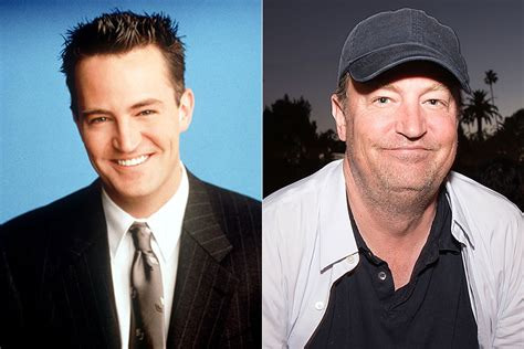 Friends Chandler Then and Now