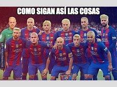 Los mejores memes del FC Barcelona Alavés