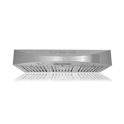 Ductless Cabinet Range by Range Hoods 36 In 400 Cfm Ductless Cabinet