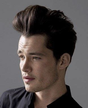medium brown straight quiff gents iconic mens hairstyles