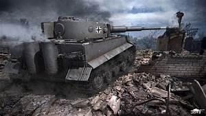 Tiger Tank Wallpaper - WallpaperSafari