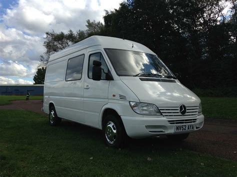 Yet, it still manages to weigh less than smaller camper vans. Mercedes sprinter 308 cdi mwb camper van just built see ad ...
