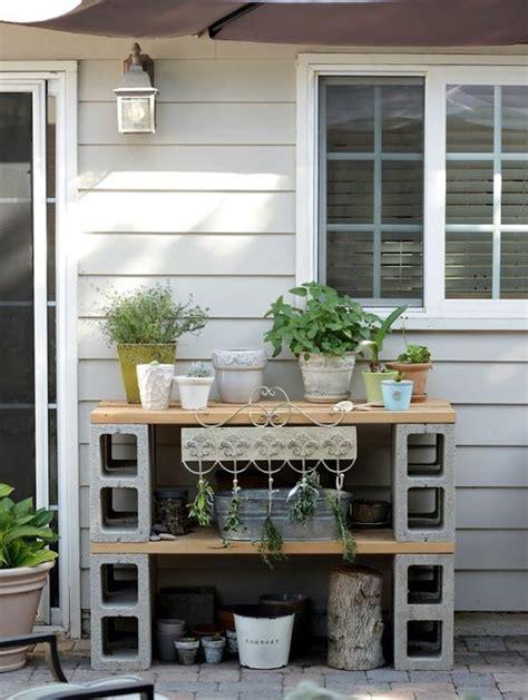 creative ideas  decorate  concrete blocks home