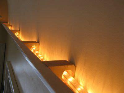 rope lights  moldings      shadows