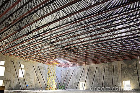 bar joist roof royalty  stock photography image