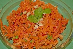 Rezept Für Karottensalat : karottensalat mit ingwer und koriander rezept mit bild ~ Lizthompson.info Haus und Dekorationen