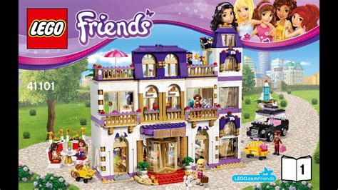 41101 Heartlake Grand Hotel Lego Friends