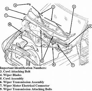1995 Plymouth Voyager Wiper Linkage