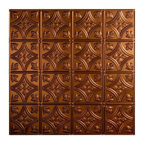 2x2 Ceiling Tile Home Depot by Fasade Traditional 1 2 Ft X 2 Ft Lay In Ceiling Tile