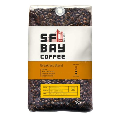 Does don pablo coffee have a facebook page? SF Bay Coffee Breakfast Blend Whole Bean 2LB (32 Ounce) Medium Roast (Packaging May Vary ...