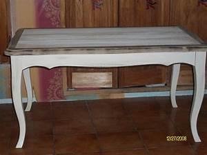 Table Basse Campagne Chic : table campagne chic les tiroirs de s raphine ~ Teatrodelosmanantiales.com Idées de Décoration
