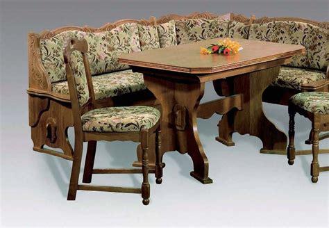 zwiesel oak corner bench breakfast booth nook kitchen nook