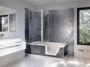 Revetement Mural Salle De Bain Adhesif : salle de bain revetement mural ~ Dailycaller-alerts.com Idées de Décoration