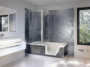 salle de bain revetement mural With revetement mural adhesif salle de bain