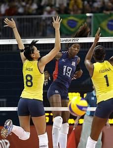 Brazilian women's volleyball team take gold - USA's ...