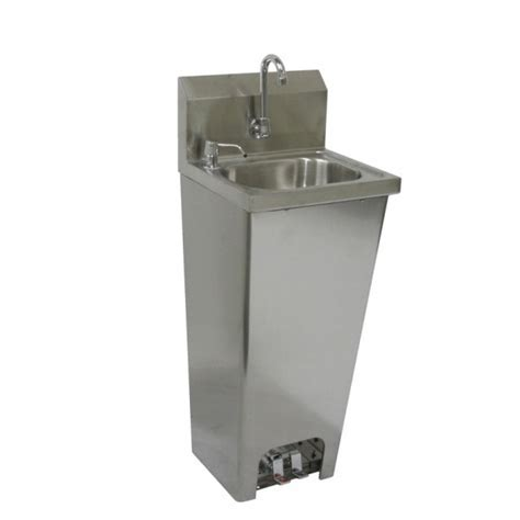 GSW HS 1615FG Hand Sink with Foot Operated Valve (No lead faucet) CheaperFaucets.com