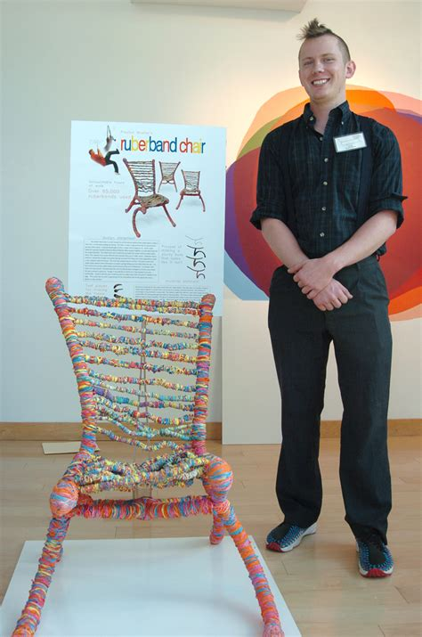 The Chair Competition by Snappy Design Wins Annual Chair Competition At Appalachian