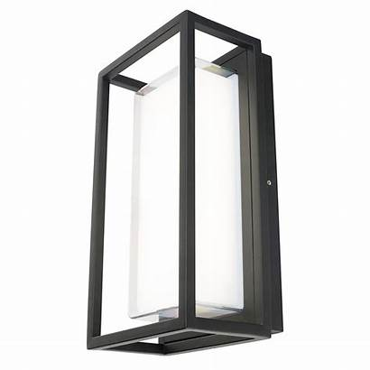 Wall Rectangular Outdoor Led Bolton Cool 12w