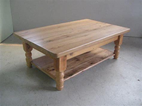 Custom Oak Coffee Table  Coffee Table Design Ideas