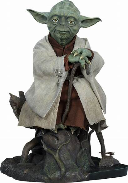 Yoda Figure Sideshow Wars Star Collectibles Scale