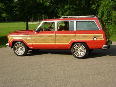 find   jeep grand wagoneer rust  woody