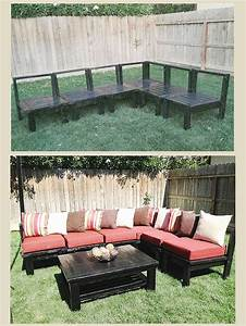 2x4 outdoor furniture plans woodworking projects plans With outdoor sectional sofa plans ana white